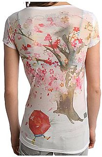 Back of spring tee urban outfitters