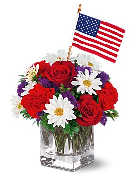 Fourth of july teleflora arrangement