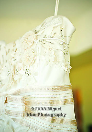 Dress details - side view