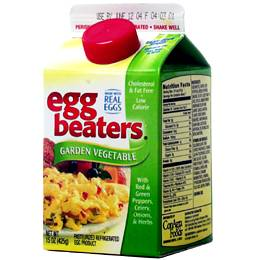 Egg beater paper carton