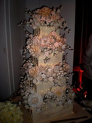Jen wedding cake