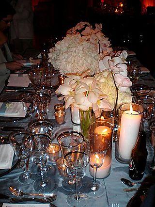 Jen wedding table centerpieces