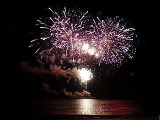 Jen wedding fireworks