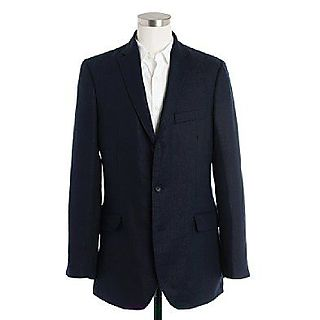 Jcrew linen suit jacket
