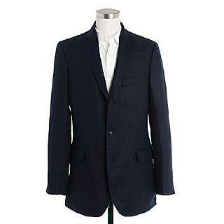 Jcrew linen suit jacket