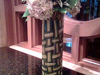 La basket weave arrangement